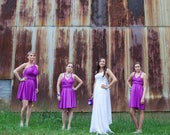 usa JILLIAN, reservered listing Convertible dress, infinity dress, bridesmaids dress