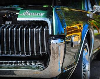 1968 Mercury Cougar - Classic Car - Mercury - Garage Art - Pop Art - Fine Art Photograph