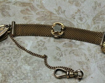 Antique GF Pocket Watch Fob - Vest Fob