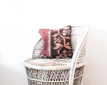 Turkish Woven Pillow Case in Woodland Nook