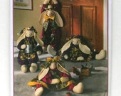 """28"""" Toy or Draft Buster Bunny - Simplicity 9430 - Vintage Designer Sewing Pattern"""