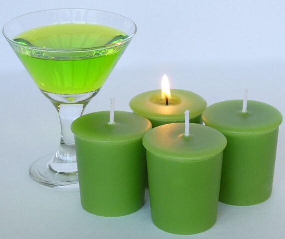 APPLE MARTINI (4 votives OR 4-oz soy jar candle)