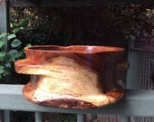 Custom listing for Glenn Saunders.Tasmanian Blackwood bowl/quaich.