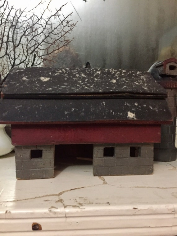 Primitive Folk Art Farm RESERVED