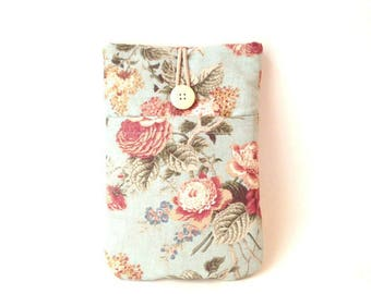 Kindle Sleeve, Voyage Paperwhite Case, KindleVoyage Case, Kindle Fire Case, Kindle Voyage Sleeve, Kindle Oasis Cover Vintage Floral Rose Bag