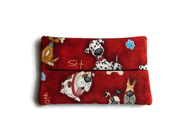Fabric Tissue Holder -  Dogs
