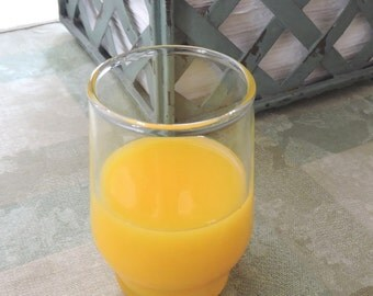 Fake Glass of Orange Juice Faux Food Staging Photo Prop