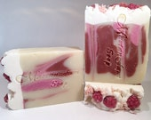 Black Raspberry Vanilla Soap-Handmade-Artisan-Cold Process-Luxurious-Natural-Gift For Her-Abbotsford-BC-Canada