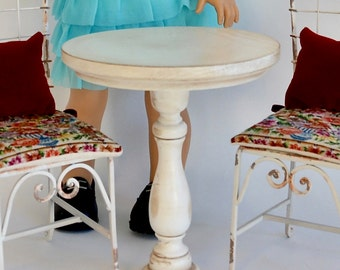 """Reserved for Laura  - Tea Table for American Girl or other 18"""" dolls"""