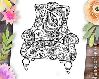 Onion Chair - Instant Digital Download