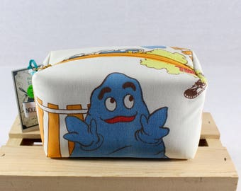 Mc Donalds Zipper Pouch Recycled