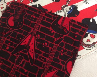 Pirate And Guitar cloth napkins