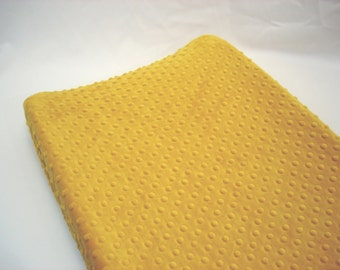 Yellow Changing Pad Cover Gold