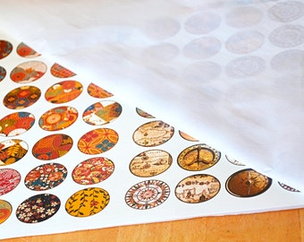 Full Color Custom Digital Ceramic Decal - One Sheet 11 X 17 in