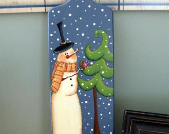 Snowman Joy Cutting Board |Holiday|Decor|