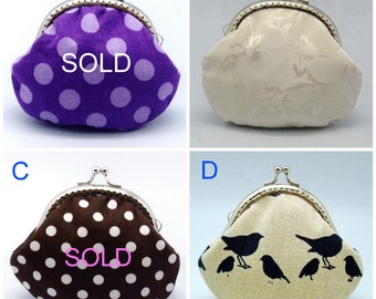 BIG SALE - Small clutch / Coin purse (GP22)