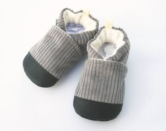 Classic Vegan City Loafer / Non-Slip Soft Sole Baby Shoes / Made to Order / Babies Toddlers Preschool