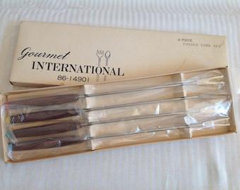 Vintage Fondue Forks Deadstock Unused