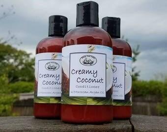 Creamy Coconut Natural Conditioner