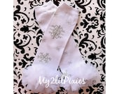 Snowflake Leg warmers, white leg warmers Holiday Leg warmers,  Baby Girl Leg warmers-, Ruffle Leg warmers,Christmas- ready to ship