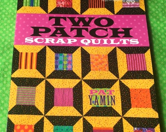Two Patch Scrap Quilt, Quilting Book