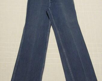 80s Retro Jeans - Vintage - TC - Blue - Women's Size 16 - Cotton - 30 x 34