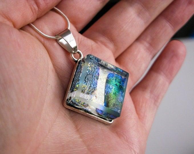 glass pendant nebula, glass jewelry, nebula pendant, universe pendant, summer party jewelry, galaxy jewelry, science jewelry, space glass