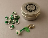 ringOs Mini Snowdrops Limited Edition - Snag-Free Ring Stitch Markers for Sock Knitting