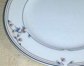 Princess House Heritage Blossom Salad Plate / Princess House Plate / Heritage Blossom Salad Plate