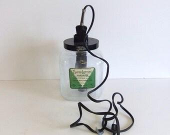 ON SALE Vintage Vaporizer Super Lectric gallon Jar