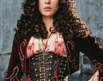 Van Helsing, 19th Century, Steampunk, Cosplay, Victorian Bolero Jacket - Custom, Made To Order