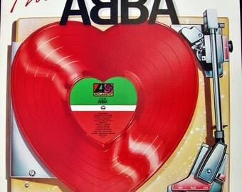 """ABBA """"I Love Abba"""" Vinyl Record NM/NM Condition Original Press 1984 Swedish EuroPop 80142-1 Atlantic Label Mama Mia Dancing Queen"""