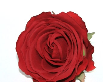 Red Kaia Rose - Silk Flowers, Artificial Flowers