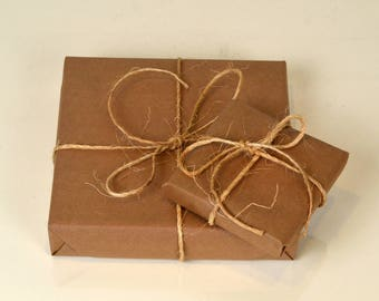 Gift Wrapping Service - Recycled Paper Wrapping with Purchase of Picture Frame - Gift Frame and Gift Message - Birthday Gift - ADD ON