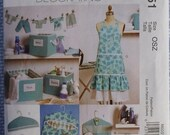 33% Off McCall's Home Decorating Pattern M6051 Laundry Room Organizers, Apron, Ironing Board Cover, and Hanger Covers