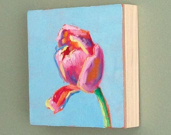 Tulip painting 4x4