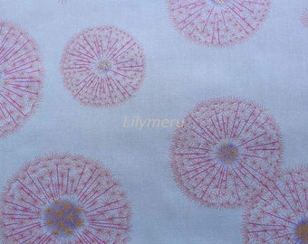 Liberty tana lawn printed in Japan - Fairy clock  - Pink mix (Large size)