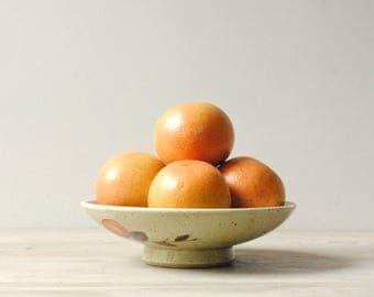 Vintage Bowl, Stoneware Bowl, Fruit Bowl, Decorative Pottery Bowl