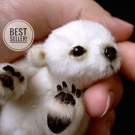 Sewing PATTERN PDF miniature teddy bear, by Tatiana Scalozub, Bestseller, how to make teddy bear step by step,  diy polar teddy bear