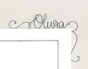 Personalized Name Sign,  Unique Over the Door Name Sign