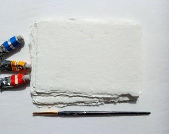 Watercolor paper,Handmade 4 x 6 inch
