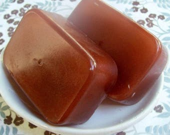 Fathers Day Gift Soap-Tobacco Caramel Soap-Unisex soap-Gift for him-dad to be-glycerine bar-cruelty free-paraben free-artisan made