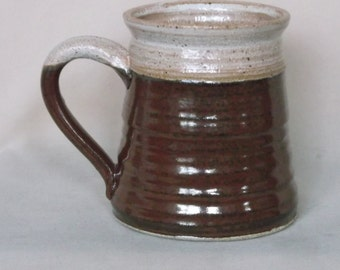 Tan and Brown Mug