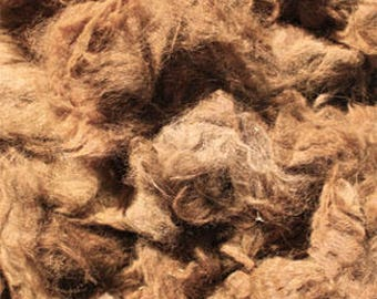 Dark Fawn Alpaca Fleece