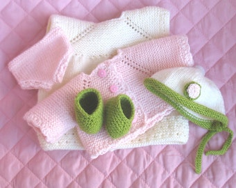 Lovely set of Waldorf Steiner doll clothes