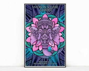 Phish Poster - Madison Square Garden NYE 2016