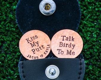 Golf Gift Boyfriend Custom Sport Gift Husband • Custom Birthday Man Gift Personalized Golf Marker • Accessory Golf Sport Stamped
