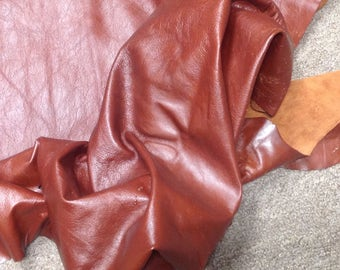 CLFE193.  Savoy Brown Leather Cowhide Partial