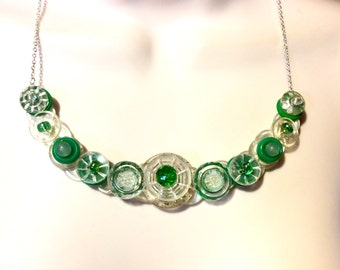 A little bit of Blarney button necklace