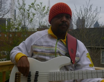 Mens Hats Collection Jaco Pastorius Inspired Beanie Number 19 For Your Bass Player Boyfriend